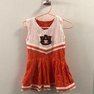 Auburn cheerleader onesie